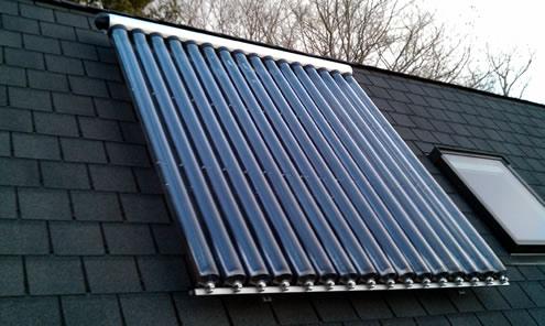 energitilskud til solvarme og solfanger